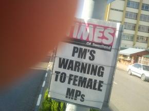 Coverage of Women in the Swazi Media,2006