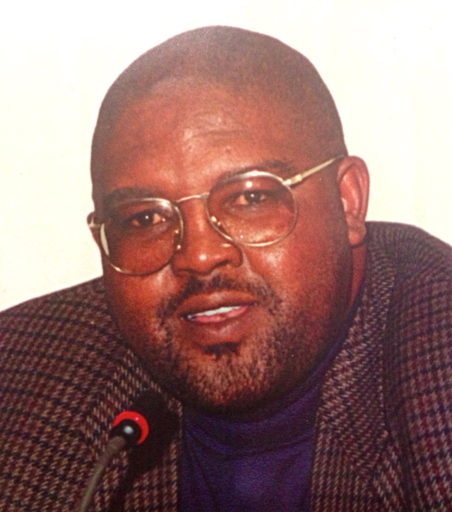 Editor of The Nation magazine Bheki Makhubu