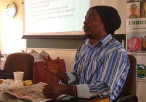 Veteran community radio campaigner Ambrose Zwane