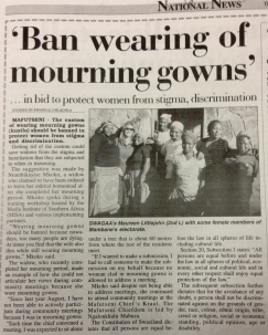 Kwanele Dhladhla's article in Times of Swaziland after the MISA-COSPE training day