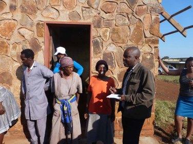 Swazi Observer reporter Joseph Zulu in Mambane