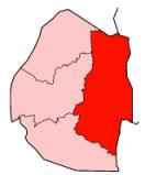 The Lubombo region of Swaziland
