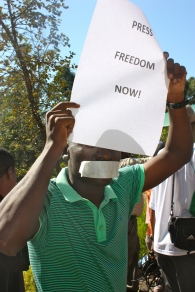 Press Freedom Now_World Press Freedom Day in Swaziland 2013