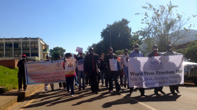 World Press Freedom Day Swaziland 2013