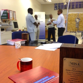 'This award will help us become more transparent' – MISA-Swaziland hosts Access to Information awards ceremony