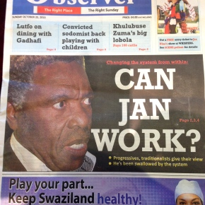 Editor of new newspaper speaks toMISA-Swaziland
