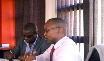 Martin Dlamini from Swaziland Editors Forum