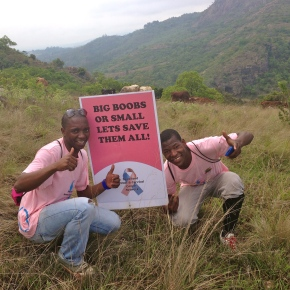 Braving the Breast to beat cancer in Swaziland – the day in pictures (part2)