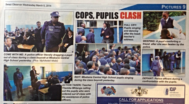 Photos from Swazi Observer, March 5 2014