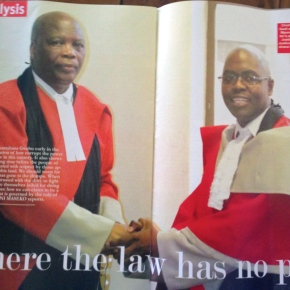 Is the Swazi broadcast media following the story of the jailed journalist and human rights lawyer?