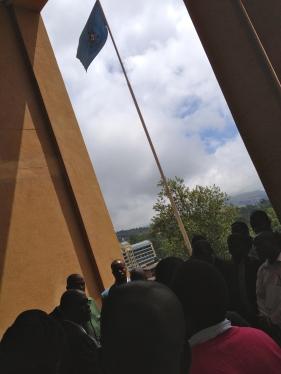 Mandla Mkhwanazi outside Swazi High Court_2