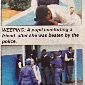 Cops beat and detain students inSwaziland