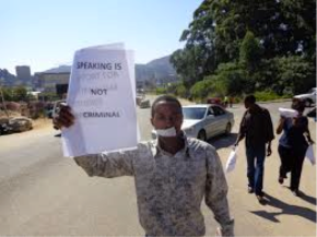 So this is democracy? Media freedom in Swaziland continues to come under threat in2013