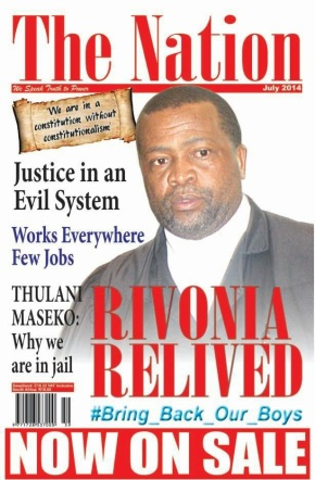 'Political' magazine banned from Swaziprison