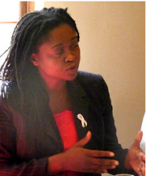 Lomcebo Dlamini, National Director of the Swaziland Coalition of Concerned Civic Organisations (SCCCO)