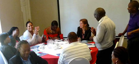 Participants at the round table on assessing Swaziland's media landscape